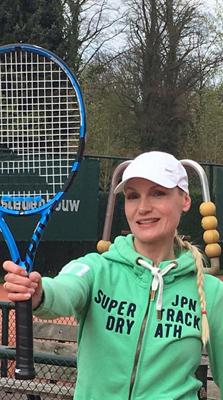 Eindhoven Tennisles trainer Annelies Hoek